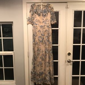 Anthropologie BHLDN Adrianna Papell Guilia Dress 4